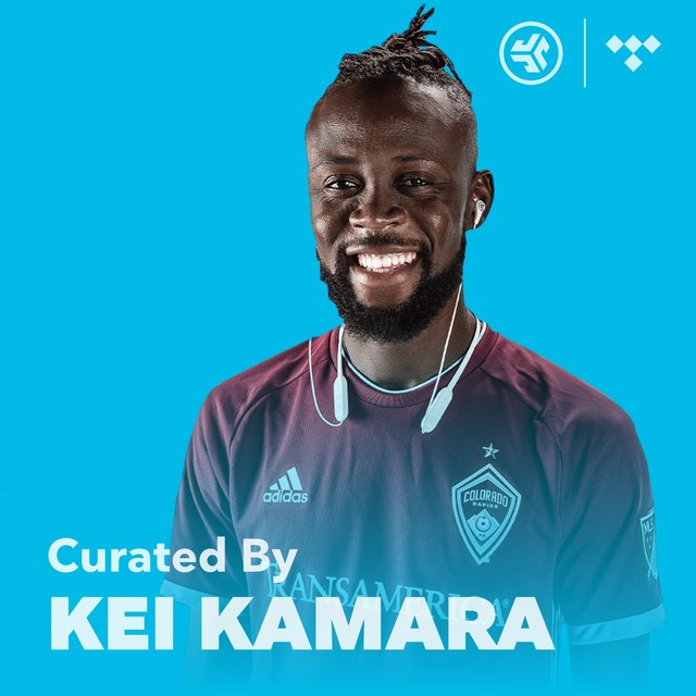 Cover art for album MLS Kei Kamara Player Playlist by TIDAL