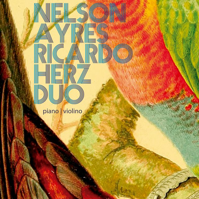 Cover art for album Duo by Nelson Ayres, Ricardo Herz