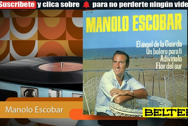 Manolo Escobar - El Angel de la Guarda (E.P.)