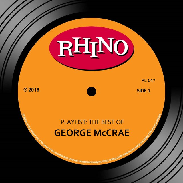 Playlist: The Best Of George McCrae