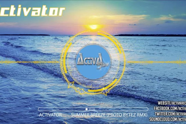 Activator - Summer Breeze (Proto Bytez Remix) - Official Preview (Activa Shine)