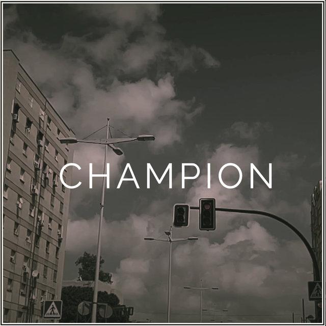Cover art for album CHAMPION by Arte Mc, El Picon, Ales Fabiani