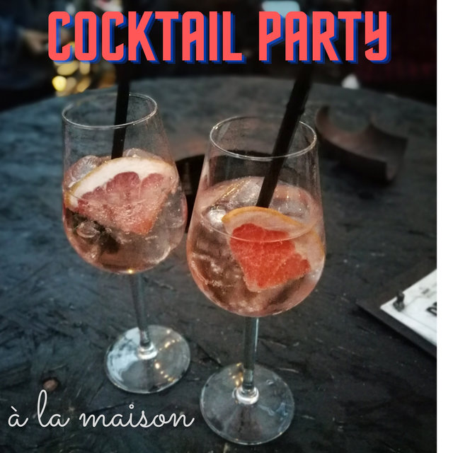 Cocktail party à la maison (Swing et smooth jazz, Style vintage, Amusement parfait)