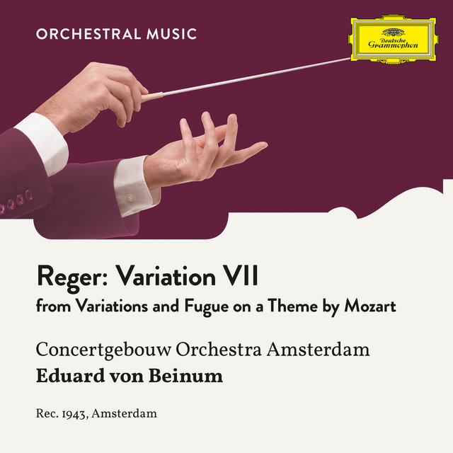 Reger: Variations and Fugue on a Theme by Mozart, Op. 132: Variation VII