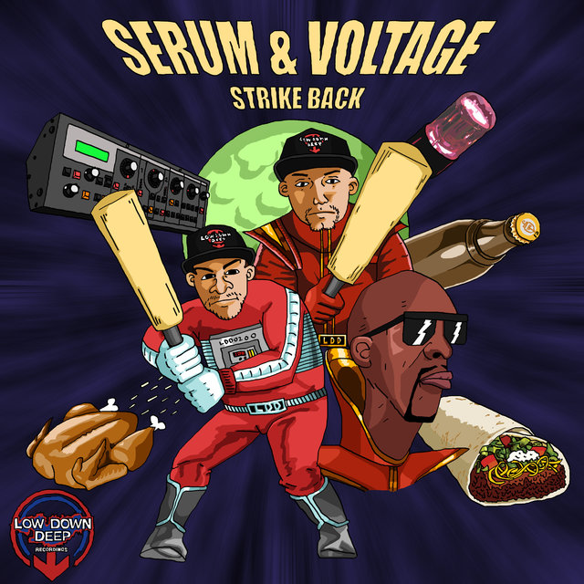 Strike Back LP