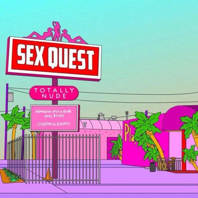 Cover art for album Sex Quest 2 by SPEAK, Caleb Stone