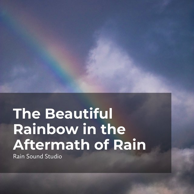 The Beautiful Rainbow in the Aftermath of Rain