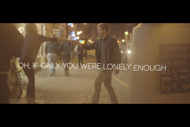 If Only You Were Lonely (Lyric Video)