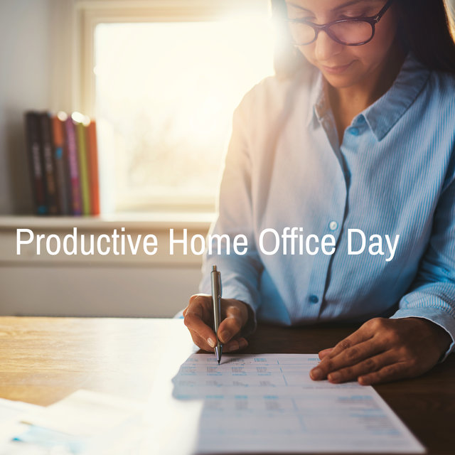 Productive Home Office Day – Smooth and Relaxing Instrumental Jazz Music for Work