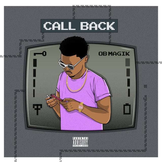 Cover art for album Call Back by OB Magik