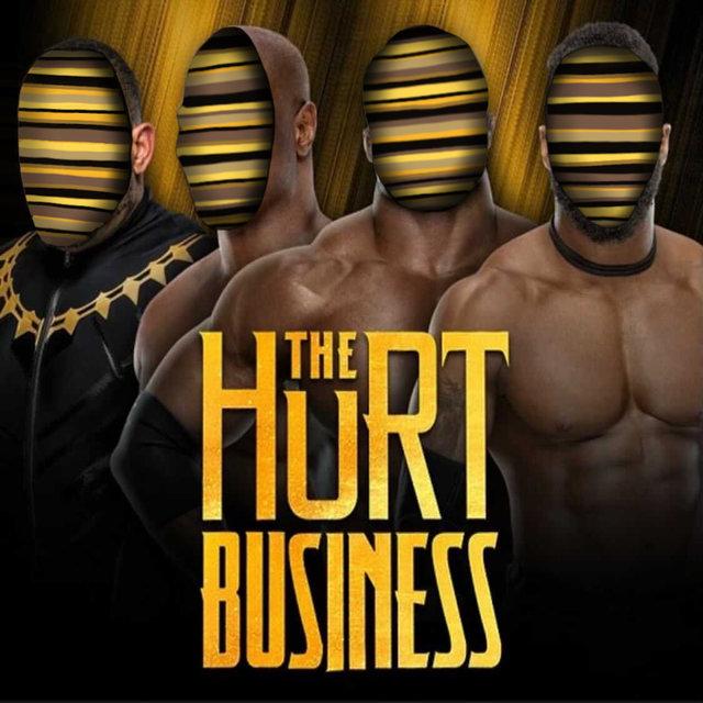 Cover art for album The Hurt Business by Westside Gunn, Smoke DZA, Wale