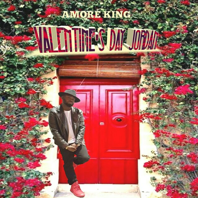 Cover art for album Valentine's Day Jordan by Amoré King