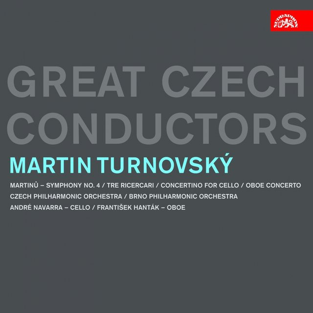 Martin Turnovský. Great Czech Conductors