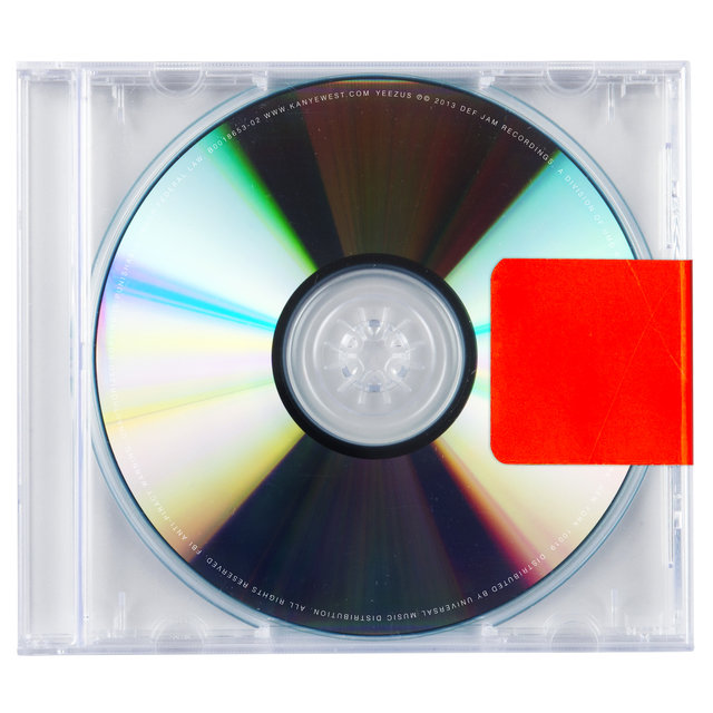 Cover art for album Yeezus by Kanye West