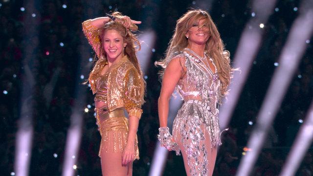 Cover art for album  by Jennifer Lopez, Shakira, J Balvin, Bad Bunny, NFL