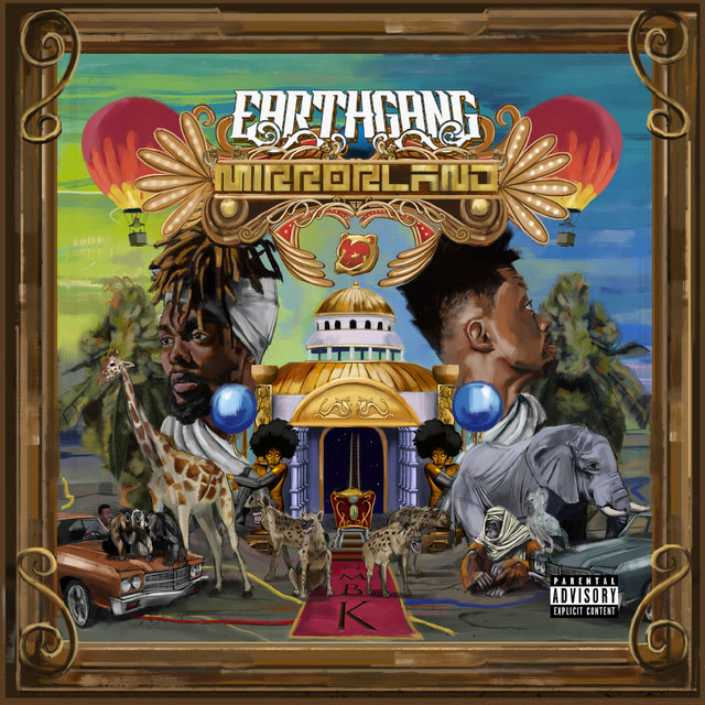 Cover art for album Mirrorland by EARTHGANG