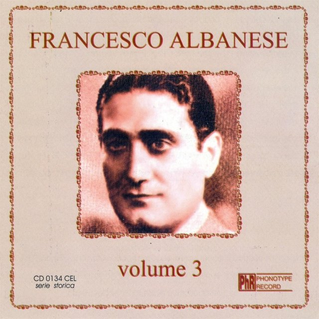 Francesco Albanese, vol. 3