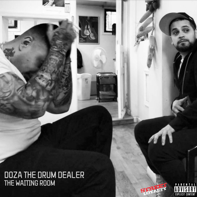 Cover art for album The Waiting Room - EP by Doza the Drum Dealer
