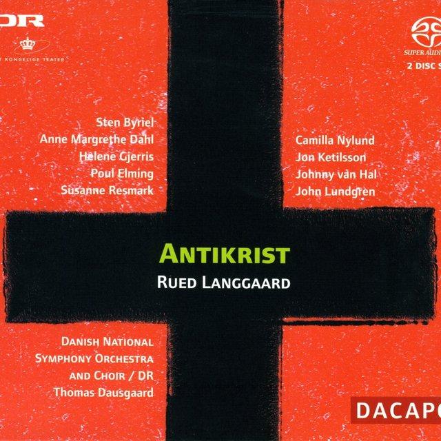 Cover art for album Langgaard: Antikrist by Thomas Dausgaard