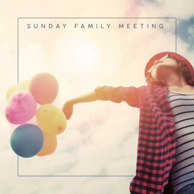 Sunday Family Meeting - Positive Set of Jazz Music Perfect as a Background for Feasting at the Table with Your Loved Ones