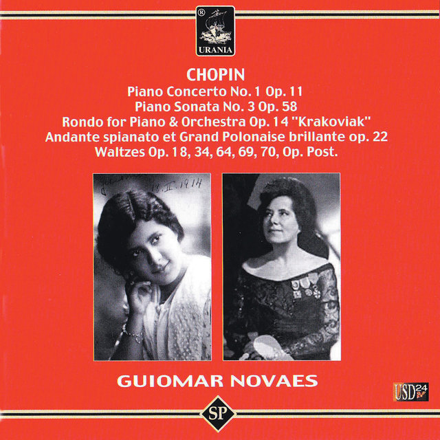 Chopin: Piano Concerto No. 1, Piano Sonata No. 3, Rondo for Piano & Orchestra