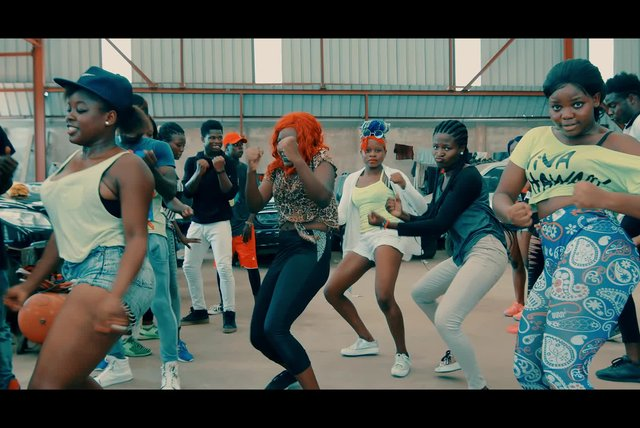 Toofan Ft. Patoranking - Ma girl - (Official Dance Demo)