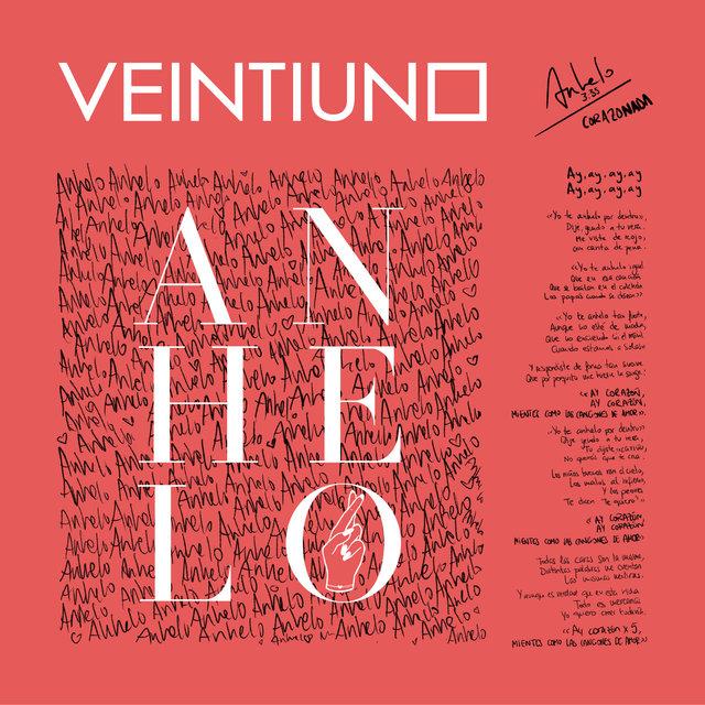 Cover art for album Anhelo by Veintiuno