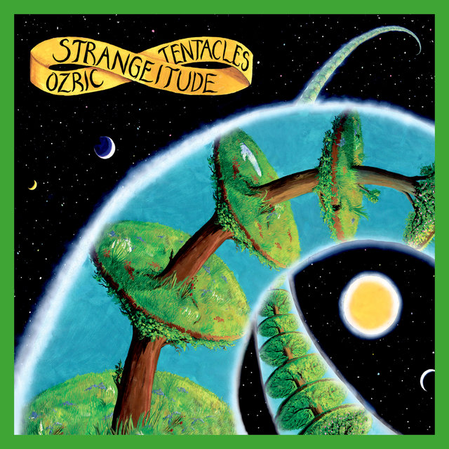 Cover art for album Strangeitude (2020 Ed Wynne Remaster) by Ozric Tentacles