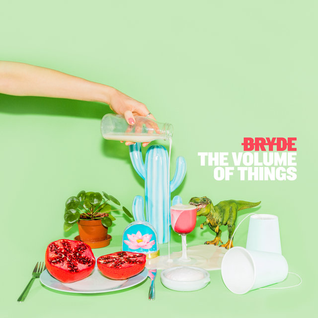 Cover art for album The Volume of Things by Bryde