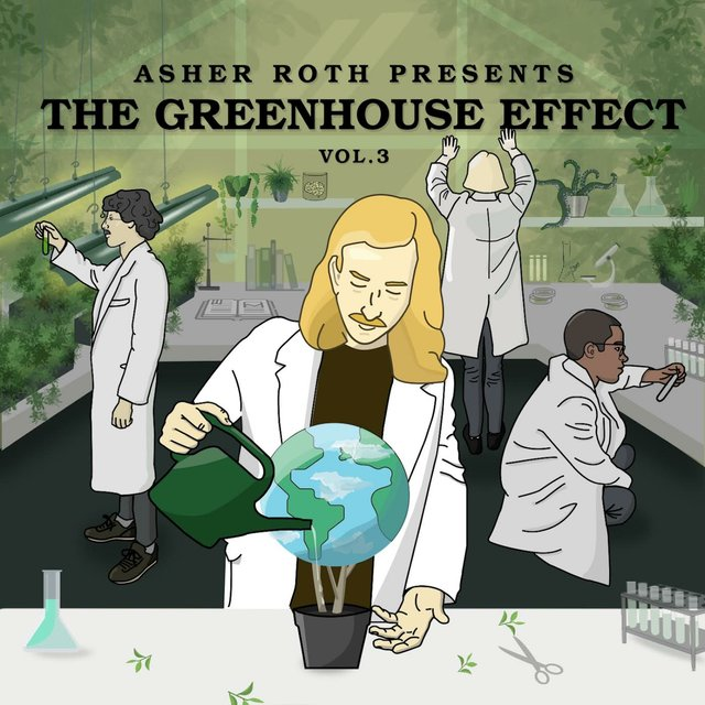 Cover art for album The Greenhouse Effect Vol.3 by Asher Roth
