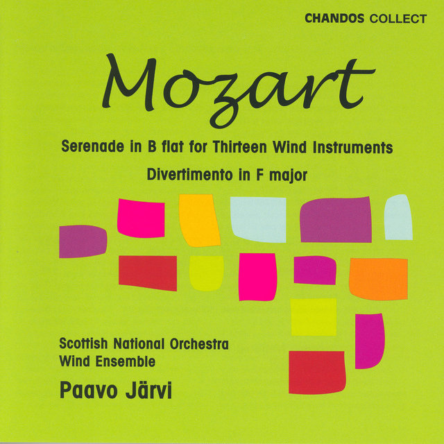 Mozart: Serenade in B-Flat Major / Divertimento in F Major