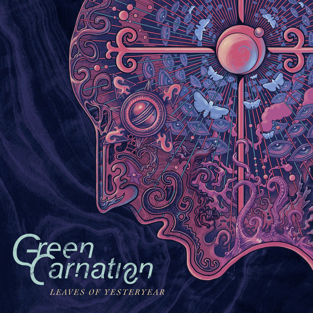 Cover art for album Leaves of Yesteryear by Green Carnation