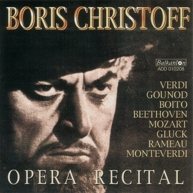Boris Christoff - Opera Recital