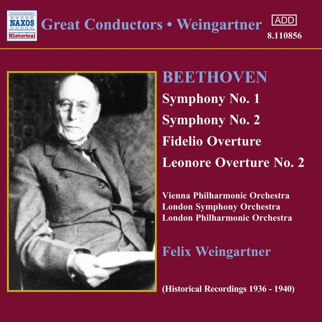 Beethoven: Symphonies Nos. 1 and 2 (Weingartner) (1935, 1938)