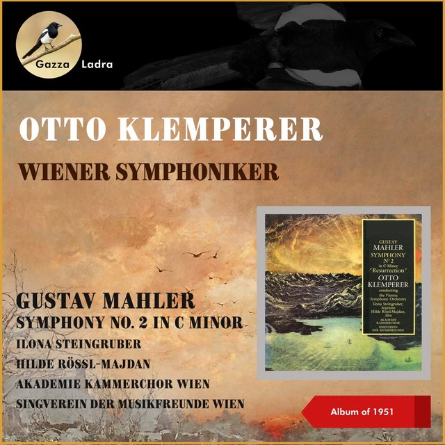 Gustav Mahler: Symphony No. 2 In C Minor (Album of 1951)