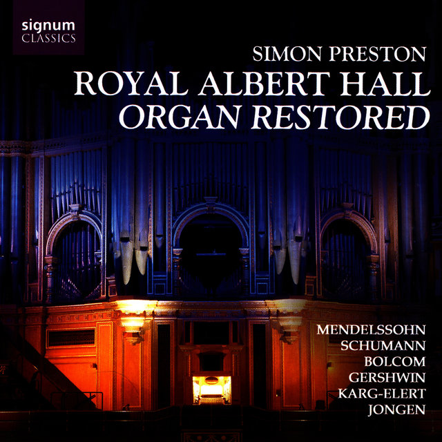Royal Albert Hall Organ Restored