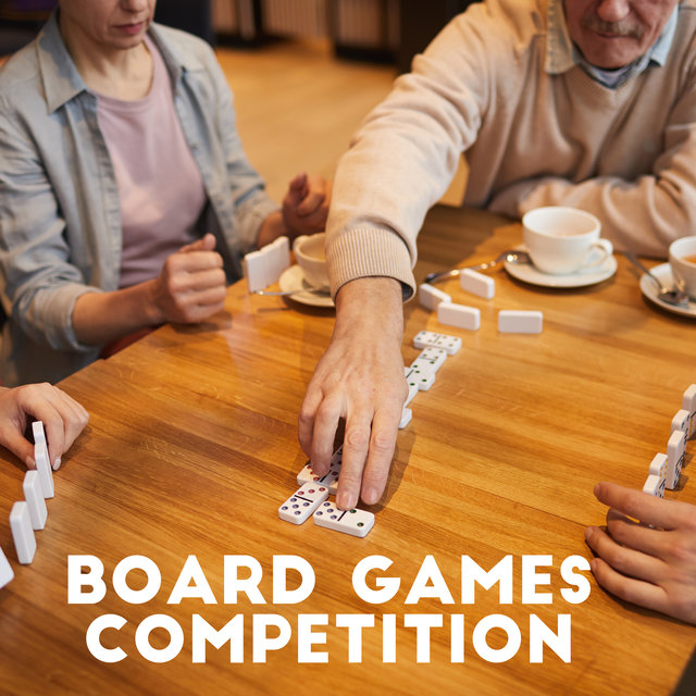 Board Games Competition – Gentle Jazz Which Works Great as a Background for Family Games on Rainy Saturday Evenings