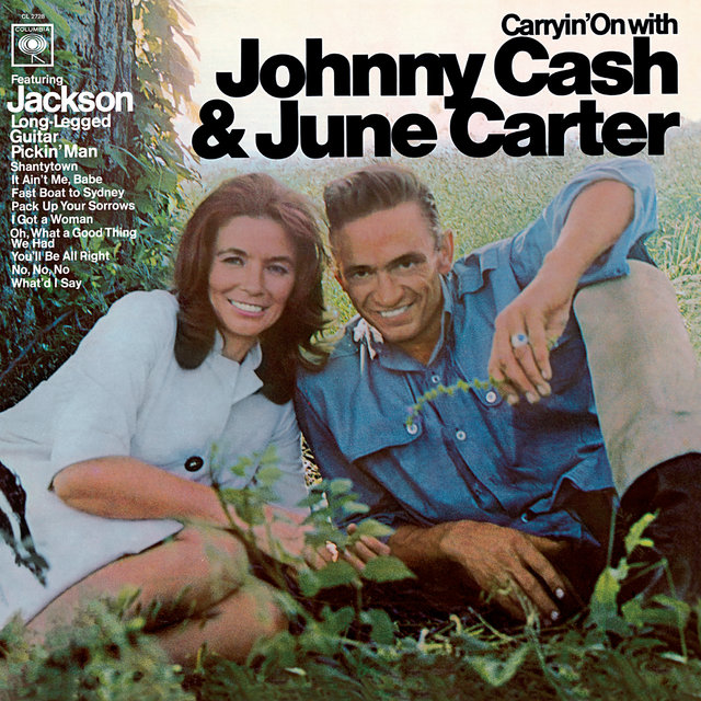 Cover art for album Carryin' On With Johnny Cash And June Carter by Johnny Cash