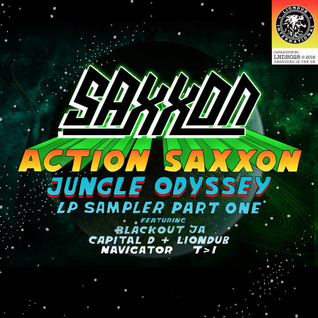 Action Saxxon - Jungle Odyssey (LP Sampler, Pt. 1)