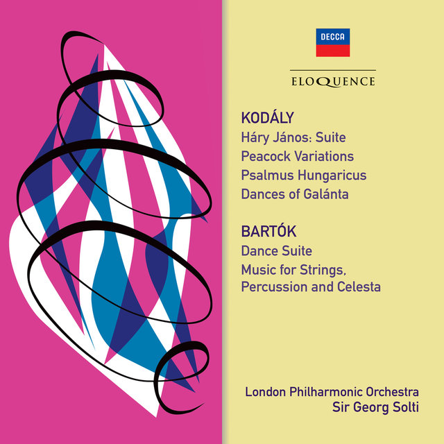 Kodaly & Bartok: Orchestral Works