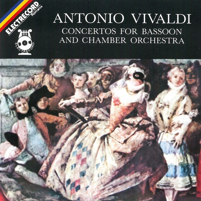 Antonio Vivaldi: Concertos for bassoon and chamber orchestra