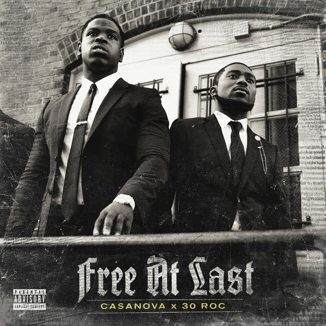 Cover art for album Free At Last by Casanova, 30Roc