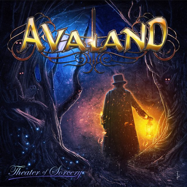 Cover art for album Theater Of Sorcery by Avaland