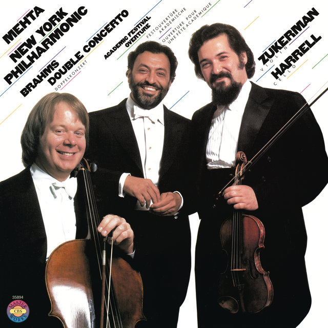Brahms: Concerto for Violin & Cello