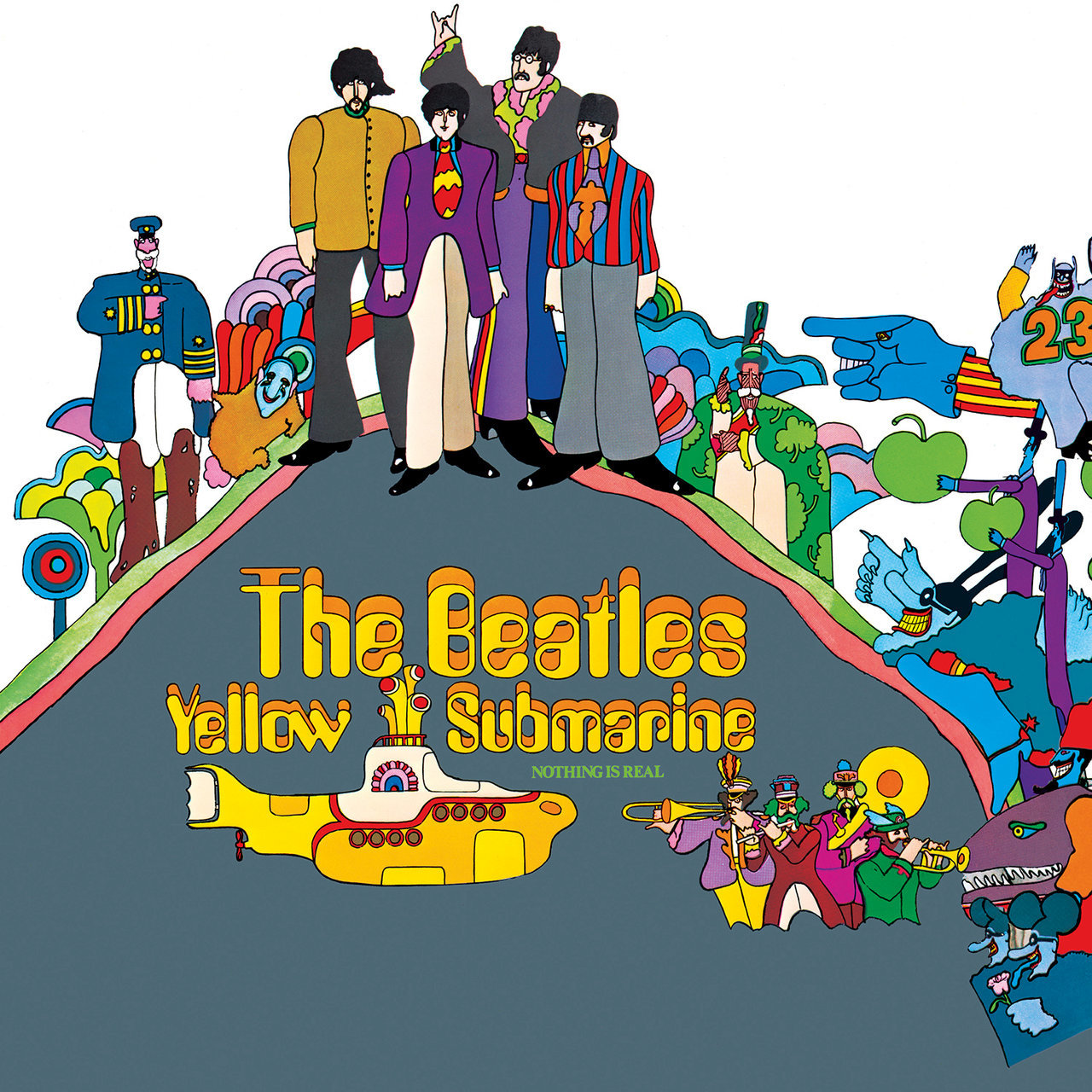 Polythene pam she came in through the bathroom window - Yellow Submarine Remastered The Beatles