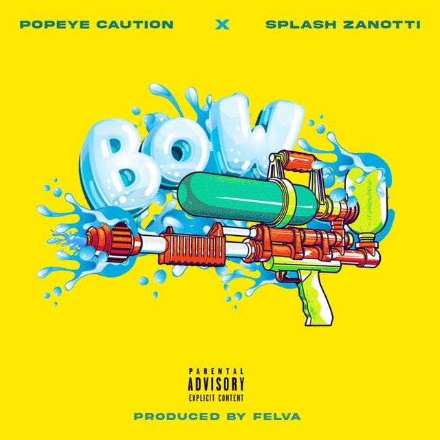 Cover art for album  by Popeye Caution, Splash Zanotti