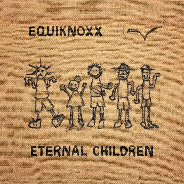 Cover art for album Eternal Children by Equiknoxx