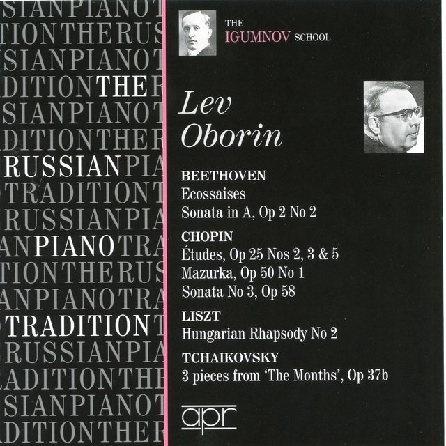 The Russian Piano Tradition: Lev Oborin