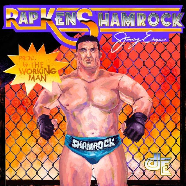 Cover art for album Rap Ken Shamrock by Jonny Empire