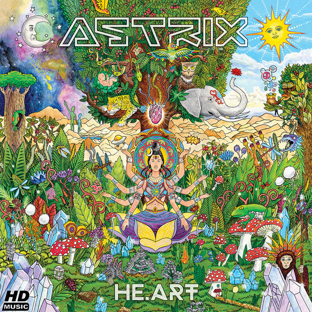Cover art for album He.art by Astrix
